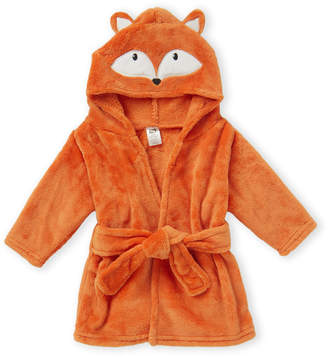 Hudson Baby Newborn Boys) Fox Plush Hooded Bathrobe