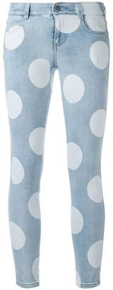 Stella McCartney polka dot skinny jeans
