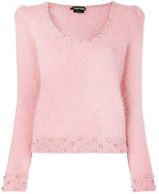 Tom Ford U-neck jumper