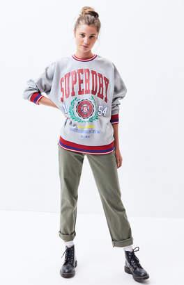 Superdry Varsity Crew Neck Sweatshirt