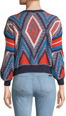 Haute Rogue Multicolor Slouchy Knit Sweater