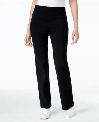 Style&Co. Style & Co Petite Tummy-Control Bootcut Yoga Pants