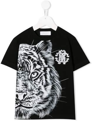 e405a5a0e Roberto Cavalli Junior tiger print T-shirt
