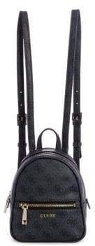 GUESS Micro Mini Urban Chic Printed Backpack
