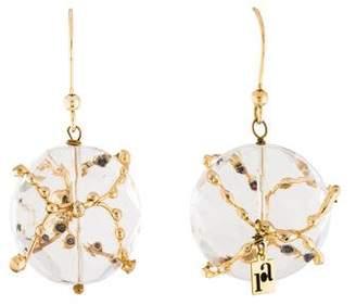Rosantica Quartz Drop Earrings