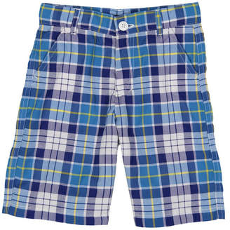 E-Land Boys' Check Short