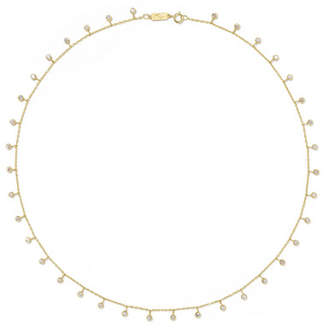 Jennifer Meyer By-the-inch 18-karat Gold Diamond Necklace