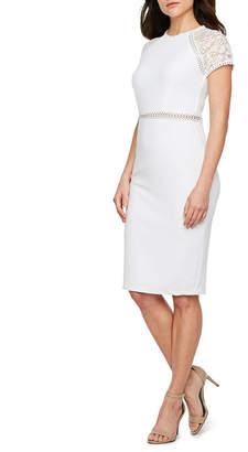 5811b2fc5c PREMIER AMOUR Premier Amour Short Sleeve Sheath Dress