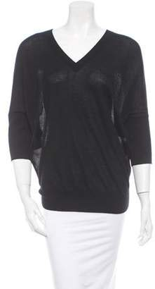 Derek Lam Cashmere Top Black Cashmere Top