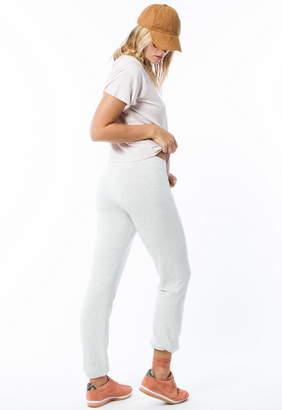 Monrow High Waisted Super Soft Elastic Waist Sweatpants