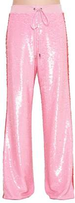 Alberta Ferretti Sequinned Side Strap Pants