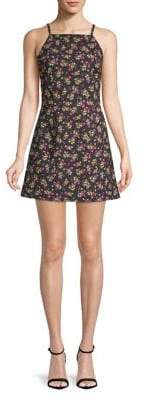 French Connection Halterneck Floral Mini Dress