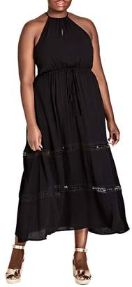 City Chic Summer Holiday Maxi Dress