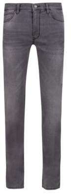 HUGO Boss Skinny-fit jeans in gray stretch denim 32/32 Charcoal