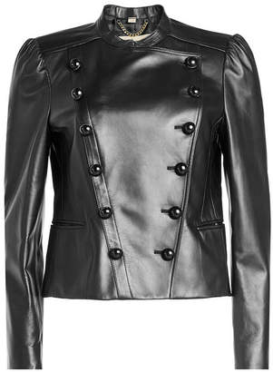 Burberry Berrington Leather Jacket