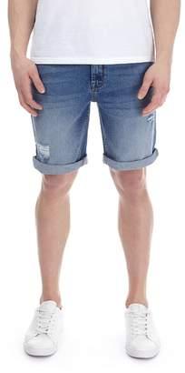 Burton Mid Blue Denim Shorts