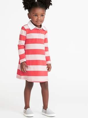 Old Navy Bold-Stripe Rugby Dress for Toddler Girls