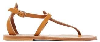 K. Jacques Buffon ankle-strap leather sandals