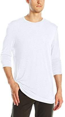 Michael Stars Men's Long Sleeve Bamboo Jersey Crew-Neck T-Shirt
