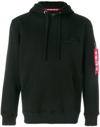 Alpha Industries pocket detail hoodie