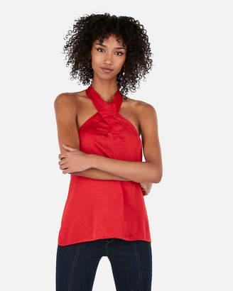 5ae8af704b570 Express Red Women s Halter Tops - ShopStyle