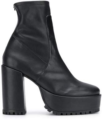 Morobé chunky sole boots