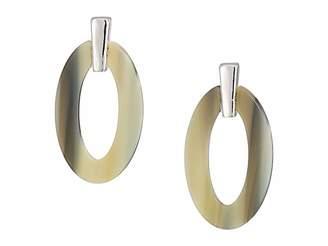 Lauren Ralph Lauren Horn Link Drop Earrings