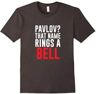 Pavlov Rings a Bell Funny Psychology T-shirt