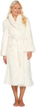Fluffie Full Length Belted Wrap Robe By Berkshire Blanket