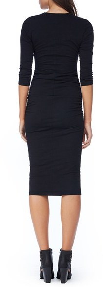 Women's Michael Stars Ruched Midi Dress 4