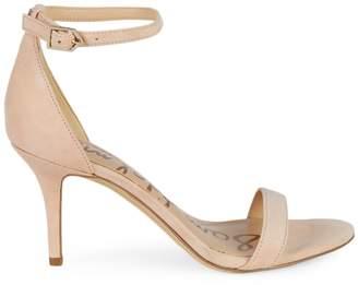Sam Edelman Patti Suede Mid-Heel Sandals