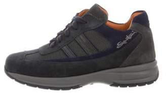 Santoni Boys' Suede Low-Top Sneakers w/ Tags multicolor Boys' Suede Low-Top Sneakers w/ Tags