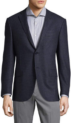 Corneliani Striped Wool Sportcoat