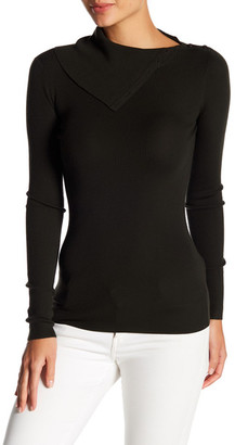 Theory Leendelly Refine Merino Wool Turtleneck Sweater $235 thestylecure.com