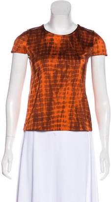 Alexis Printed Short Sleeve Top