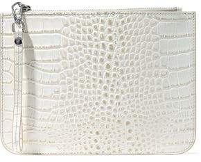 Iris & Ink Ned Croc-Effect Leather Pouch