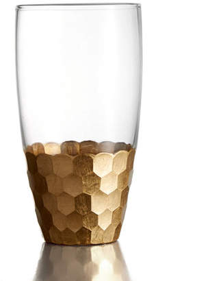 Jay Import Co Daphne Gold Highball Tumblers, Set of 4
