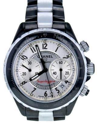 Chanel Superleggera H1624 Ceramic Silver Dial Automatic 41mm Men's Watch