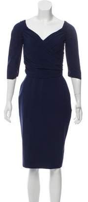 Chiara Boni Ruched Midi Dress