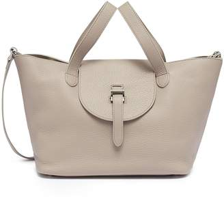Meli-Melo 'Thela' medium leather trapeze tote