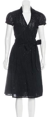 Calypso Midi Wrap Dress