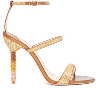 Sophia Webster Rosalind Crystal Embellished Leather Sandals - Womens - Bronze
