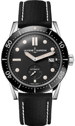 Ulysse Nardin 3203-950 stainless steel and textile Diver watch