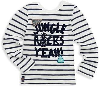 Catimini Little Girl's Jungle Rocks Yeah Long-Sleeve Cotton Tee