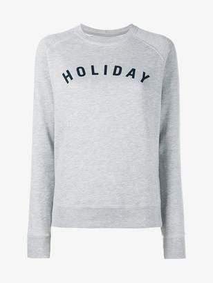 Holiday Logo Cotton Sweatshirt