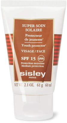 Sisley Paris (シスレー) - Sisley - Paris - Super Soin Solaire Facial Youth Protector SPF15, 60ml