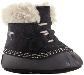 Sorel Cari Shearling Lined Leather Booties