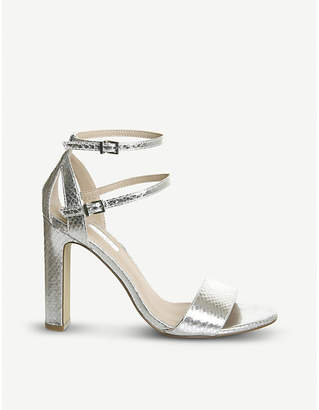 Office Hypnotize metallic heeled sandals