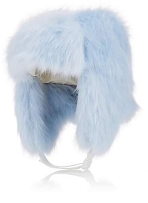 LANDLORD Men's Faux-Fur Trapper Hat - Blue