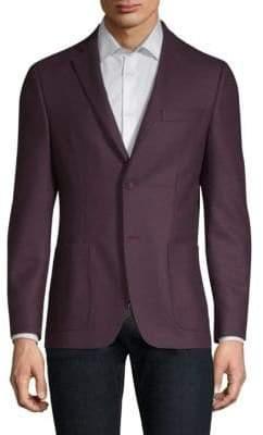 Officine Generale Wool Flannel Sportcoat